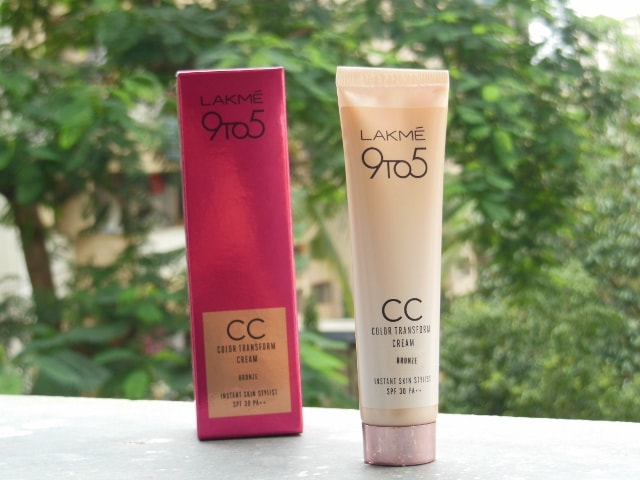 Lakme 9 to 5 Color Transform CC CReam Bronze