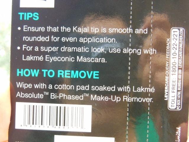 Lakme Eyeconic 22 hr Kajal Tips
