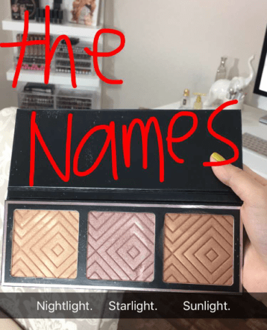 Makeup Geek x Kathleen Lights Highlighter Palette Shades Revealed