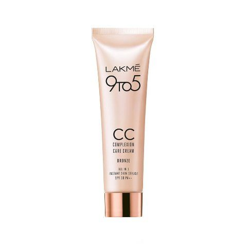New Launch - Lakme 9 To 5 Complexion Care Color Transform CC Cream Bronze