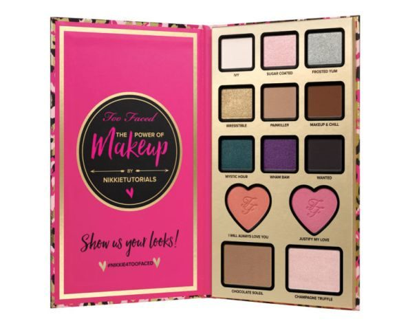 Nikkie Tutorials x Too Faced Collaboration Power Of Makeup Eye Shadow Palette