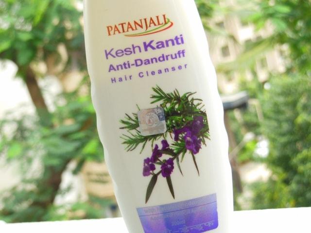Patanjali Kesh Kanti Anti-Dandruff Shampoo Claims