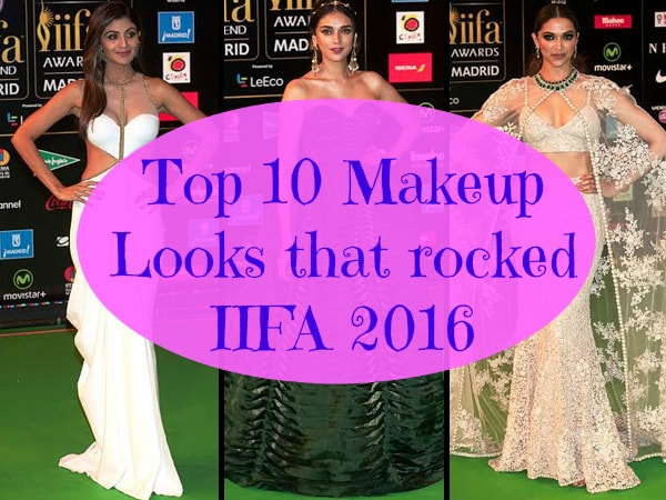Top 10 Makeup Looks at IIFA 2016