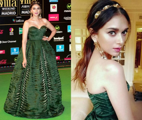 Top 10 Makeup Looks at IIFA -Aditi Rao Hyadri