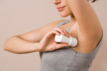 Causes of Dark Underarms - Deodorant