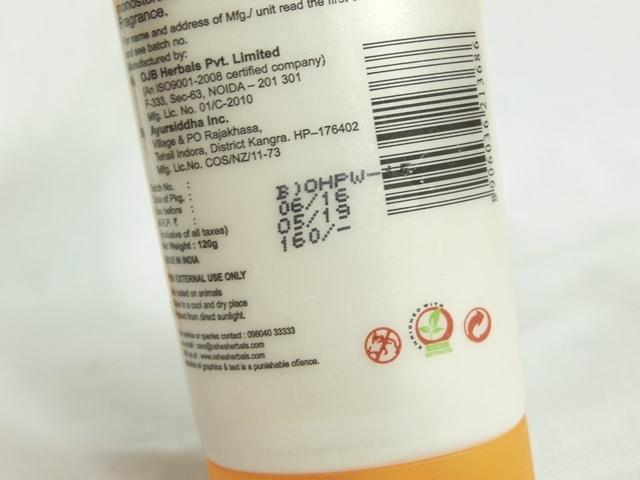oshea-herbals-papaya-face-wash-price