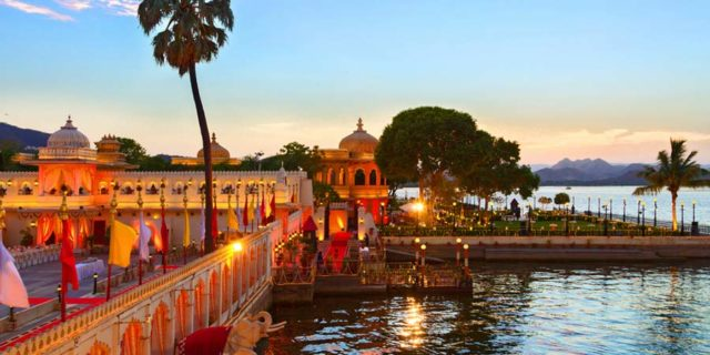 Top 10 Themed Wedding Destinations in India - Jag mandir Palace Udaipur