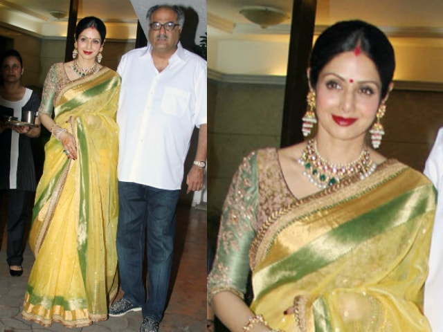 bollywood-celebrities-karwa-chauth-outfit-sridevi-yellow-saree