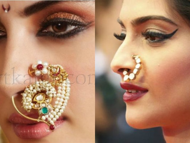 must-have-vintage-jewelry-for-indian-brides-nose-pin