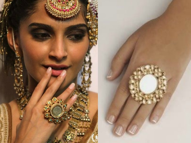 must-have-vintage-jewelry-for-indian-brides-antique-mirror-rings