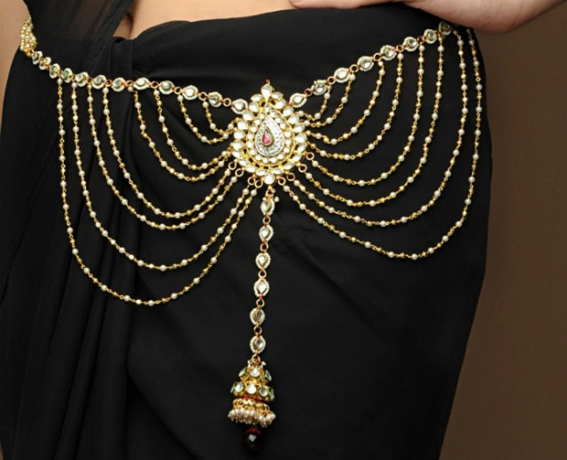 must-have-vintage-jewelry-for-indian-brides-waist-belt