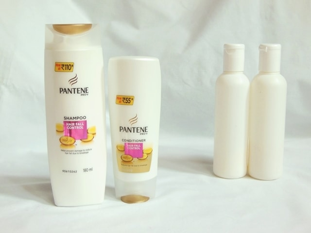 pantene-hair-fall-control-shampoo-and-conditioner-combo-vs-regular-brand-shampoo