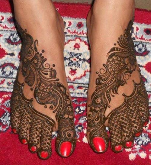 15 Trending Henna Designs For Feet Best Mehendi Designs Beauty