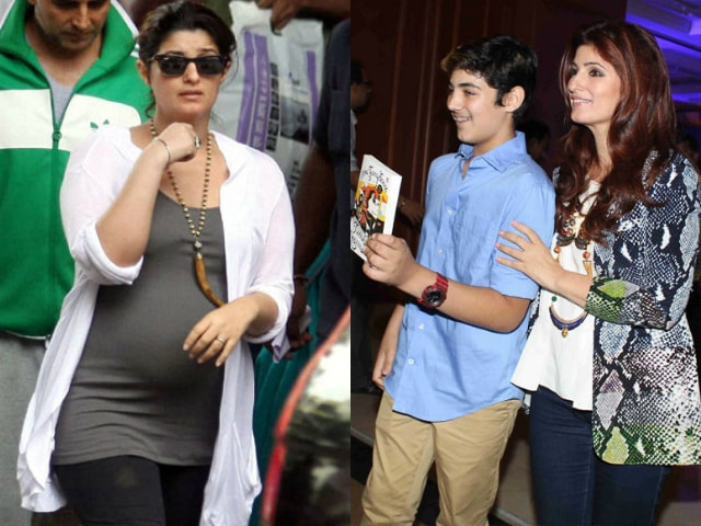 yummy-mummies-of-bollywood-twinkle-khanna-pregnancy-before-and-after