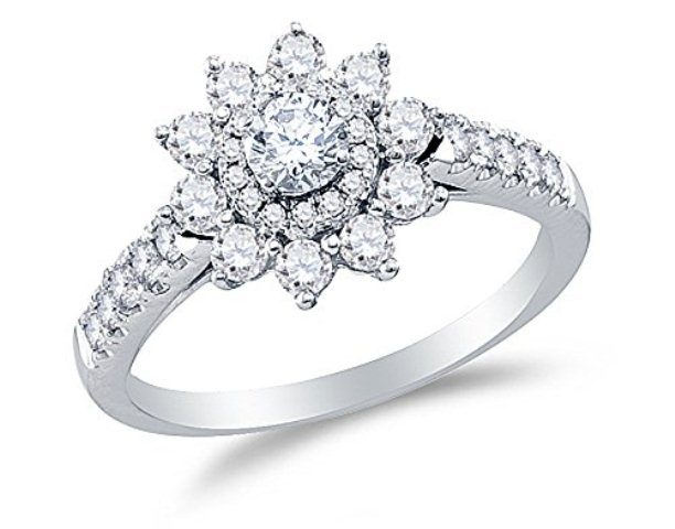 best-engagement-rings-for-brides-floral-shaped-diamond-ring-1