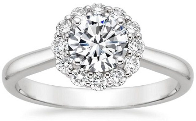 best-engagement-rings-for-brides-floral-shaped-diamond-ring-2