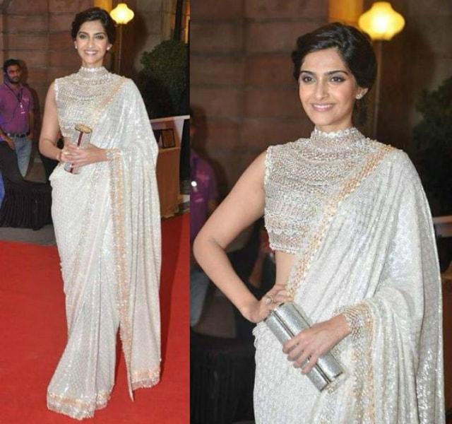 best-ethnic-looks-of-sonam-kapoor-sonam-kapoor-in-designer-saree-on-red-carpet