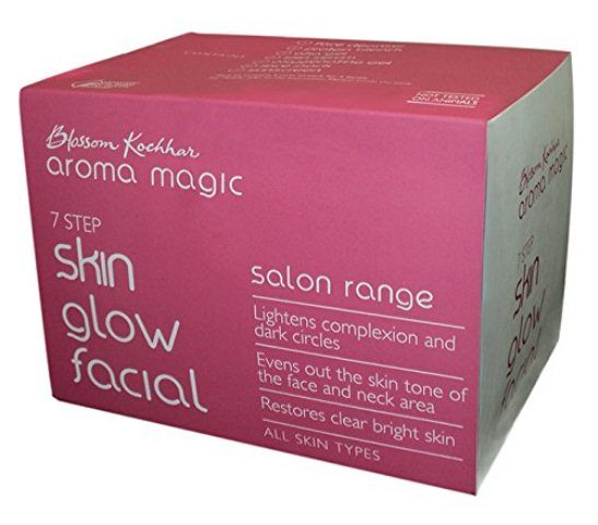 best-facial-kits-for-oily-skin-in-india-blossom-kocchar-aroma-magic-skin-glow-facial-kit