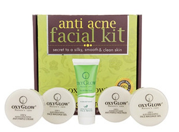 best-facial-kits-for-oily-skin-in-india-oxyglow-anti-acne-facial-kit