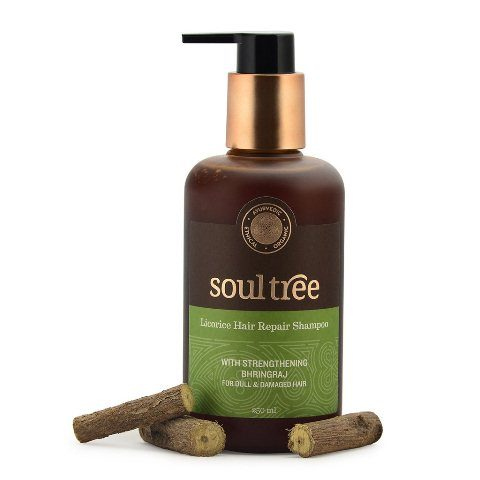 best-sulfate-free-shampoos-in-india-soultree-licorice-hair-repair-shampoo