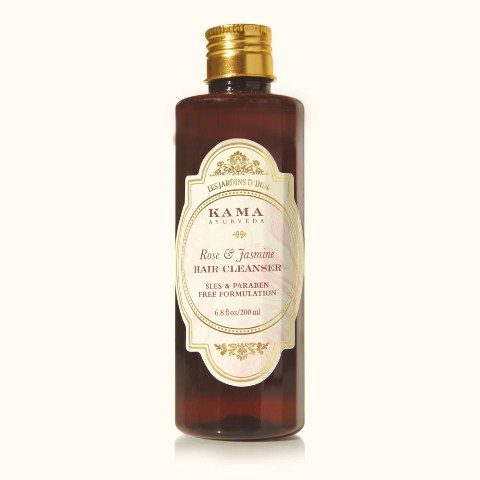 best-sulfate-free-shampoos-in-india-kama-ayurveda-rose-and-jasmine-hair-cleanser
